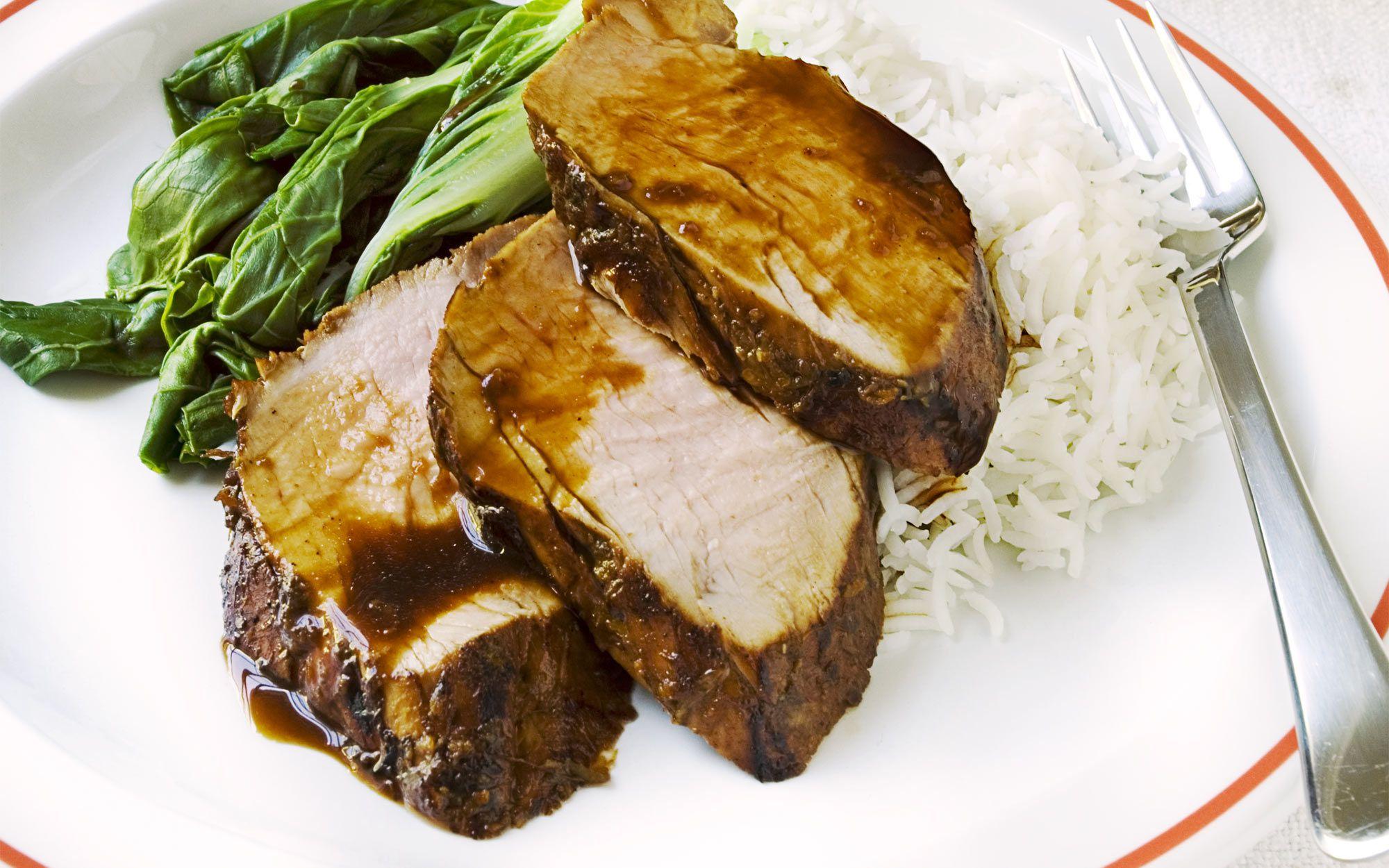свинина в маринаде