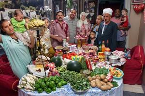 Недельная еда в Египте