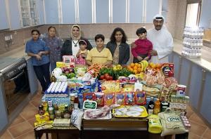 Недельная еда в Кувейте