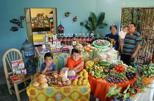 Недельная еда в Мексике
