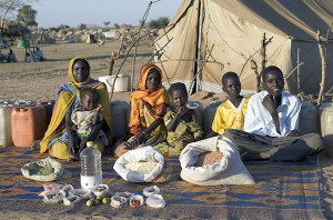 Недельная еда Чад