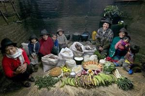Недельная еда Эквадор
