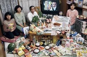 Недельная еда в Японии