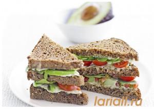 Зеленый сэндвич